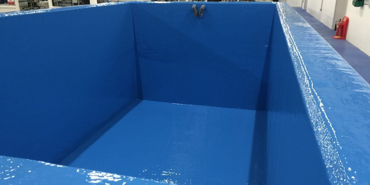 Concrete Water Tank GRP Lining System | Specialist Lining Services